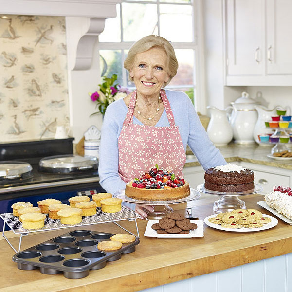 Mary Berry with Lakeland